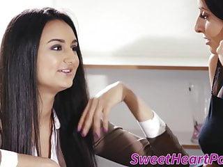 Milf bosses wife seduces Boss milf silvia saige seduced by new assistant eliza ibarra