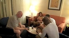 Amateur Hotwife Takes It In The Ass After Card Game