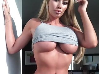 Ass bimbo Dumb blonde sophie dalzells big ass bimbo tits