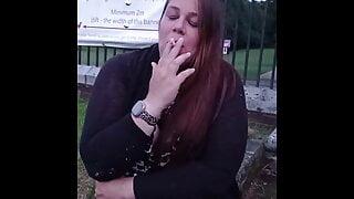 Smoking Cleavage