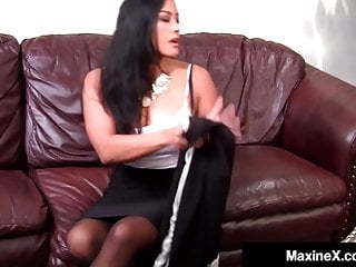 X tube black cock Asian star maxine-x gets anal creampied by big black cock