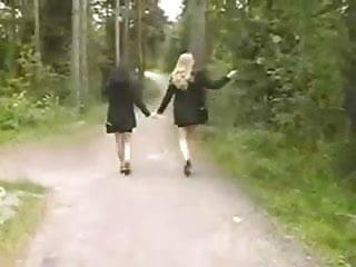 Anna michelle katja lesbian twins Russian nineteens part 4 - jenni and katja