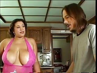 Black sucking cocks Big thick cock sucking lady with huge tits loves to titty fuck and suck cum