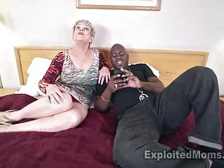 Exploited moms mature - Busty granny in creampie video