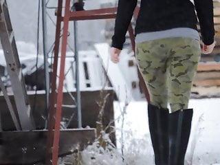 Tiger strip camo - Firn ass leggings camo patterned