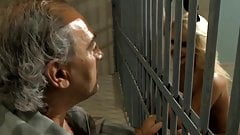 Old Prisoner Fucks Two Horny Guards