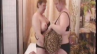 Amalie And Agata Join The Granny Lesbian Club