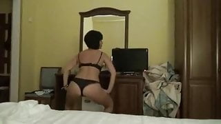Georgeous Ukrainian sexwife on vacation w her Russian lovers