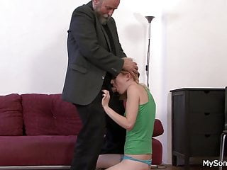Old blokes having sex with young women