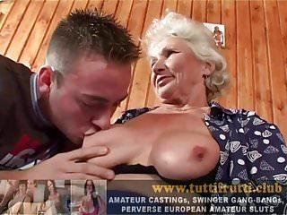 Hairy granny sluts Hairy euro slut granny