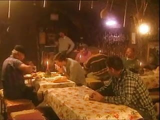 Sperm eating granny His girlfriend eats sperm of strangers for dinner in bar