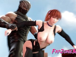 Hentai flash game barnyard fuck 3d kasumi from video game dead or alive gets fucks