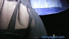 HornyAgent Big boobed Romanain model fucking outside