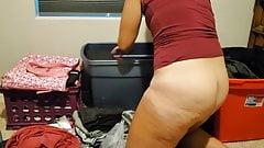 Wife on knees