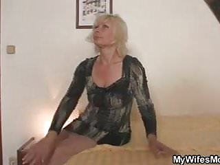 Sexy mother inlaw stories Blonde mother inlaw seduces married man