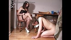 slave lives with his Mistress p2