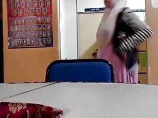 Malaysian shemale Malay- cikgu bertudung ramas tetek