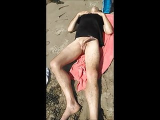 Best beach handjob Beach handjob part 1