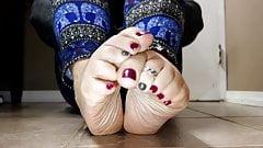 Women with Beautiful Feet