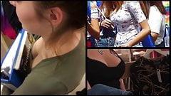 Teen Voyeur - Short Boobies Comp