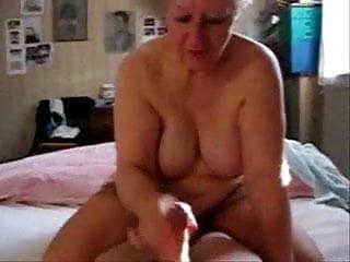 Older mature aunt My slut mature aunt jerking my cock