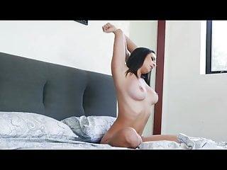 Ashley massaro boob Ashley adams flashing her natural big boobs to seduce a guy