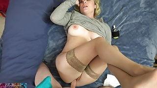 Stepmom has a headache and needs sex
