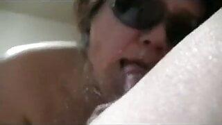 sunglasses milf blowjob 2