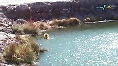 Juju Salimeni - Banho no deserto
