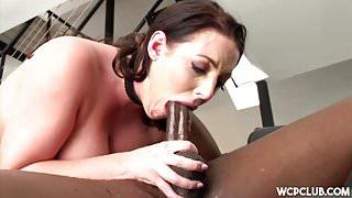 Angela White Loves Big Black Cock
