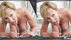 Horny granny lets you pummel her meat wallet like if it were a boxing bag