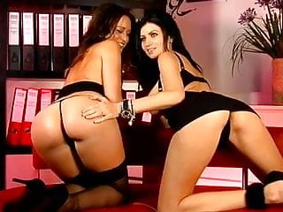 Clare spank Clare richards and lilly roma on s66