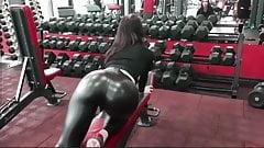 Leather legging girls 9