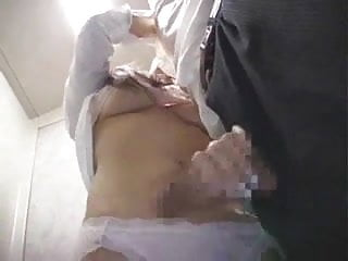 Humadors elevated bottom Japanese lady in elevator 3