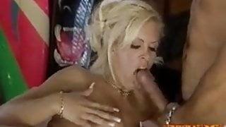 Extreme Gangbang With Sexy Blonde Baywatch Parody 4