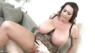 Big Tits Step Mom gets Fucked with Huge Dick