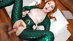 Redhead Lacy Lennon as AQUAMAN's MERA Squirts On Your Cock