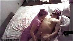 blond Cheating dominant enjoys her slave pissing