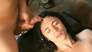 fucked facial and squirt