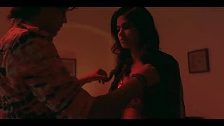 Aditi Pohankar boobs pressed