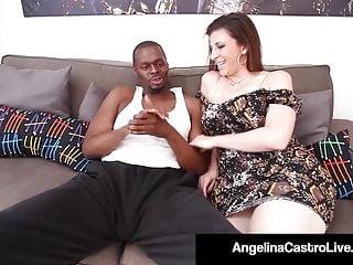 Real cock suckers clips Curvy cock suckers angelina castro sara jay mouth fuck bbc