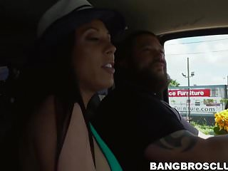 Brunette fine fuck pussyhair video Cock sucking brunette babe with fine tits gets a huge facial