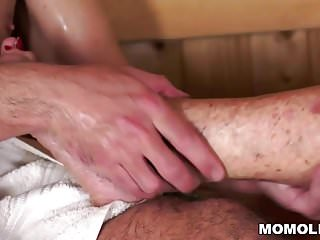 Skinny gray hair granny porno - Gray granny fucked in sauna