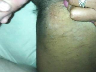 Hairy black pussu fucking Fucking my wifes hairy black pussy hole
