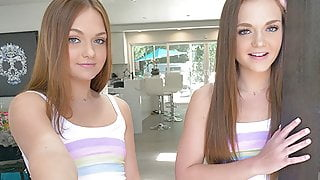 CUM4K Multiple Oozing Creampies On Labor Day With Twin Teens