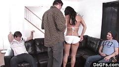 Dagfs  Mandy More Vs. 3 Hard Cocks