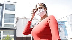 Yorgelis, linda peituda venezuelana é fodida em Peru