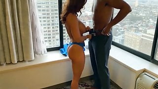 Milf Goes Horny And Calls Cock At Hotel