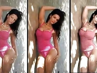 Milani gallery nude Denise milani sexy in pink - non nude