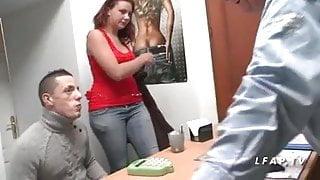 Casting anal jeune et jolie rouquine francaise